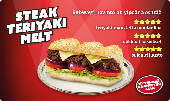 Steak Teriyaki Melt