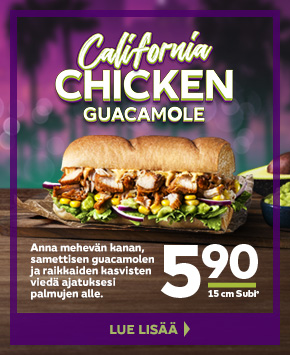 Californian Chicken Guacamole